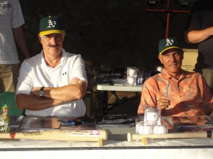 Rollie & Campy – Rollie Fingers & Bert Campaneris have been there and done that – three times!