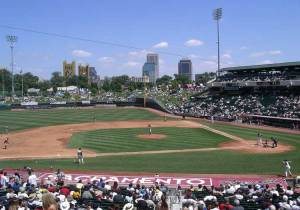 Raley Field in Sacramento - home of the Sacramento River Cats