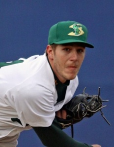 Beloit Snappers' Pitcher Derek DeYoung (5 IP / 4 H / 0 ER / 1 BB / 2 K / Win)
