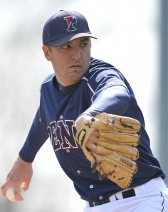 Beloit Snappers' Pitcher Vince Voiro (5 IP / 3 H / 0 ER / 1 BB / 4 K / Win)