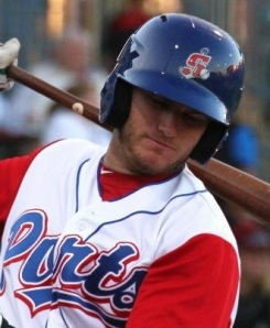 Stockton Ports First Baseman Max Muncy (Home Run / 3 RBIs)