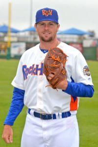 Midland RockHounds Pitcher Zach Neal (9 IP / 2 H / 0 ER / 0 BB / 3 K / Win)