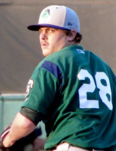 Beloit Snappers Pitcher Dylan Covey (6 IP / 3 H / 1 ER / 0 BB / 3 K / Win)