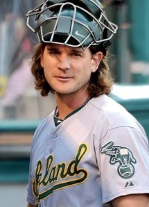 John Jaso: Back behind the plate for the A's?
