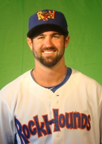 Midland RockHounds Pitcher Drew Granier (6 IP / 1 H / 0 ER / 4 BB / 4 K / Win)