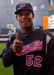 Sacramento River Cats Outfielder Michael Taylor (Home Run / Double / 3 RBIs)